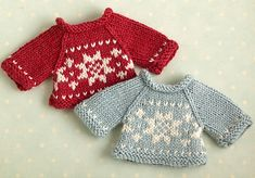 Ravelry: Nordic style sweater pattern by little cotton rabbits, Julie Williams