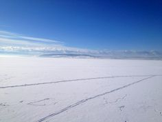 The lake Mjøsa all covered with ice. All Covers, My Dream, Norway, Ice, Country, Beach, Water, Pictures, Outdoor