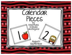 "FREE MATH LESSON - ""Calendar Pieces - Patterning August/September"" - Go to The Best of Teacher Entrepreneurs for this and hundreds of free lessons.  PreKindergarten - 3rd Grade   #FreeLesson   #Math  http://www.thebestofteacherentrepreneurs.net/2014/09/free-math-lesson-calendar-pieces.html"