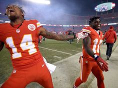 3508624f5 Kansas City Chiefs wide receiver Tyreek Hill (10) and wide receiver  Demarcus Robinson (