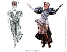 Costumes from Wonderland the Musical