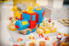 Resultado de imagem para aniversário infantil meios de transporte