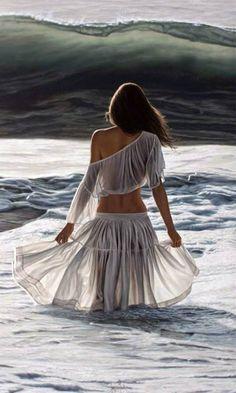 Facing the ocean... Sergio Martinez Cifuentes