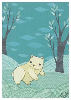 Polar Bear Art Print (Signed)