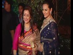 Sonakshi Sinha @ Ahana Deol's wedding reception.
