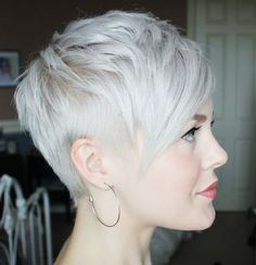 Pixie Hairstyles Extraordinary I Love Sarah's Pixie Cut Tutorialsshe Is Able To Do In One Minute