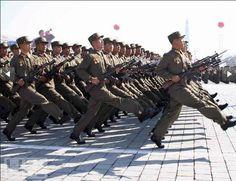 STRANGE MILITARY PARADES AROUND THE WORLD - NORTH KOREA