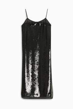 ROCHAS Sequin Slip Dress. #rochas #cloth #
