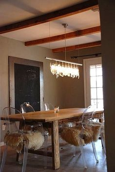 Contemporary Modern Rustic dining | Jane & Judy