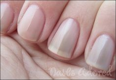 Sally Hansen Shell We Dance? I didn't realize it would be sheer! Grr. Layering polish then!