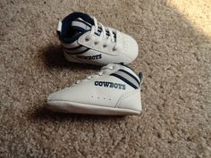 Dallas Cowboys baby shoes by Reebok. Size 1 Very Cute Must See!!!!!
