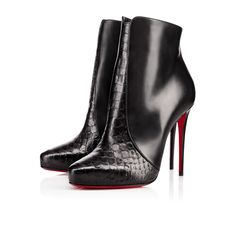 christian louboutin mens shoes replica - Bella Top 120mm Black Leather | Christian Louboutin, Calves and ...