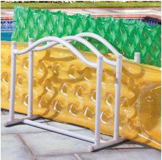 Jeri's Organizing & Decluttering News: Summer Organizing: The Pool Toys Pool Toy Organization, Pool Toy Storage, Pool Float Storage, Storage Area, Pvc Pool, Pool Decks, Pool Fun, Beach Pool, Tube Pvc