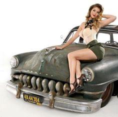 Hotrod Pinup
