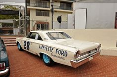 1963 Ford Galaxie. Dan Gurney stock car.