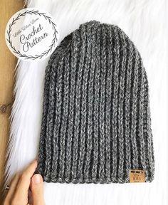 Crochet Beanie For Men Tutorial 69 Super Ideas Mens Beanie Crochet Pattern, Beanie Pattern Free, Easy Crochet Hat, Basic Crochet Stitches, Crochet Basics, Knit Beanie, Crochet Beanies For Men, Crochet Winter, Patterns