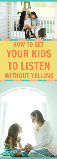 Sometimes it feels like yelling is the only solution, but we all know it only makes things worse. You really can get your kids to listen without yelling. #motherhood #nomoreyelling #angermanagement #parenting