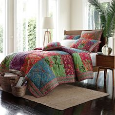 Carina Quilt | The Company Store - Oh the colors!!