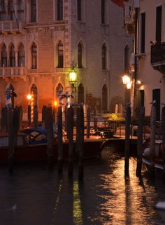 Venice at night Travel Around The World, Around The Worlds, 10 Days In Italy, Venice Painting, Overseas Travel, Southern Europe, Night Photos, Venice Italy, Great View
