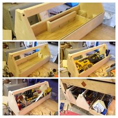 Plenty of pocket holes and Kreg screws helped Paul build these custom toolboxes. They even have handy compartments on the sides to store small parts. We approve! Keep up the great work!