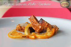 Filé Mignon Suíno ao Molho Barbecue www.familiatagliari.com.br www.facebook.com/familiatagliari