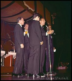The Rat Pack live on stage