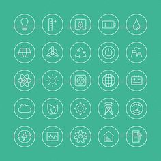 Power and Energy Flat Line #Icons | Buy and Download: http://graphicriver.net/item/power-and-energy-flat-line-icons-/6940242?WT.ac=category_thumb&WT.z_author=Bloomua&ref=ksioks