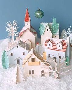 Petit village Noël