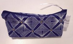 African Shweshwe Pencil Case / Make-up Bag / Purse / Jewellery holder / Earphones Carrier / Sunglasses Case other fabrics available. For sale £6 + postage www.madebynomes.etsy.com  https://www.etsy.com/listing/166200418/african-shweshwe-pencil-case-make-up-bag
