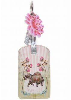Papaya Art Fancy Elephant Luggage Tag. Buy Papaya Art Stationery online in Australia