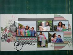 Photo Layouts, Page Layout, Scrapbooking Layouts, Scrapbook Pages, Maybe Someday, Sketches, Happy, Girls, Fun