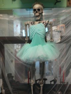 Dead Ballerina.... keep a little humor in Halloween.