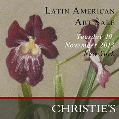 Autorretrato y Orquídeas de Claudio Bravo en subasta en Christie's. Leer más http://claudiobravo.com/noticia_2013-11-16.html  Claudio Bravo on Christie's New York Art Sale. Click for more http://claudiobravo.com/en_news_2013-11-16.html