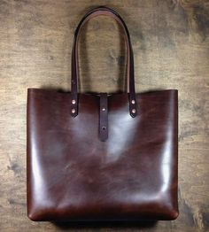 Horween Leather Tote Bag by Koch Leather Co. on Scoutmob Shoppe