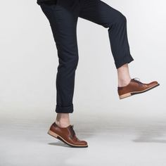 chaussure Derbies tendance Camel - Collection Alpha Subtle Shoes Camel, Suits, Collection, Fashion, Leather Heels, Natural Leather, Moda, Fashion Styles, Camels