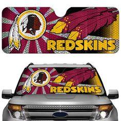 Washington Redskins 23'' x 57'' Reflective Auto Sun Shade