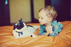 Love kids with pets.