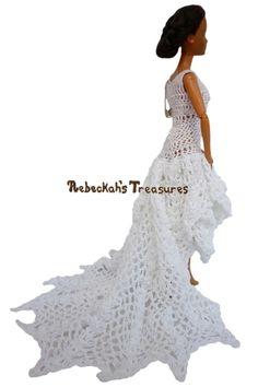 Barbie's High Low Wedding Dress