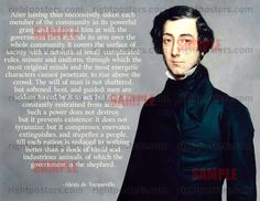 Alexis de Tocqueville on Soft Despotism (Is this not what we are living under today?)