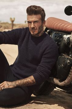 There aren't many looks David Beckham can't pull off