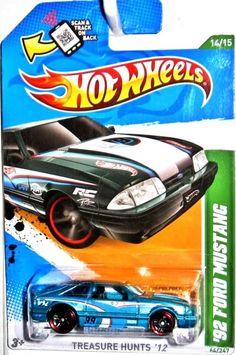 1992 Ford Mustang 2012 Hot Wheels Treasure Hunt #264/247 #HotWheels #Ford