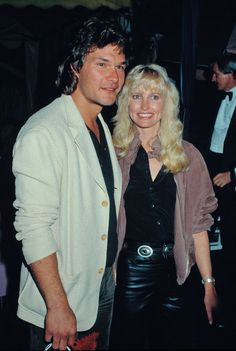 Lisa Niemi The following are classic (stock) images of Patrick Swayze.Image Circa: 1984, with wife, Lisa Niemi.