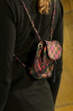 silk tartan modern Scottish trendy fun funky traditional beading bags tartan funky fashion fun scotl