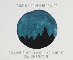 Take Me Somewhere Nice - Sky Sailing
