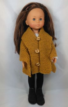 Laine Rico, Crochet Hats, Dolls, Mini, Sweaters, Chiffons, Fashion, Sewing Doll Clothes, Knitted Doll Patterns