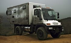 Driving anywhere in the world (and over any terrain in the world) on a Global Expedition Vehicle...awesome!!!
