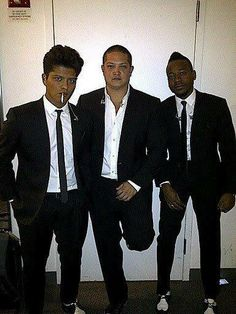 Bruno, Eric, and Jam looking good!