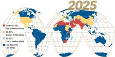 World Water Stress in 2025