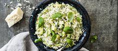 Mehevä avokadorisotto maistuu sellaisenaan kevyenä kasvisruokana tai lisäkkeenä esimerkiksi kalalle. N. 1,50€/annos.