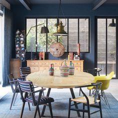 Un salle à manger vintage